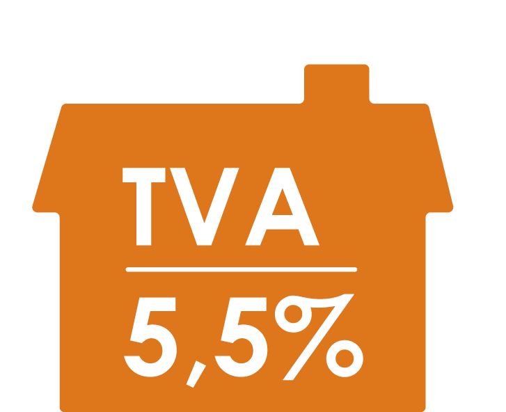 Une TVA réduite à 5,5 %