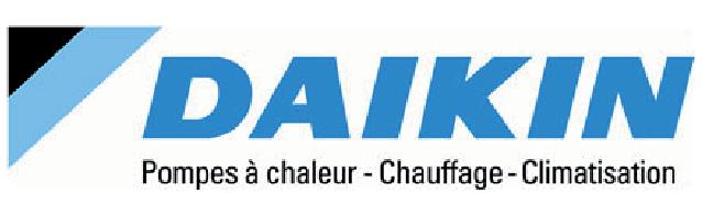 LOGO DAIKIN POMPES À CHALEUR-CHAUFFAGE-CLIMATISATION, MBENERGIES PARTENAIRE